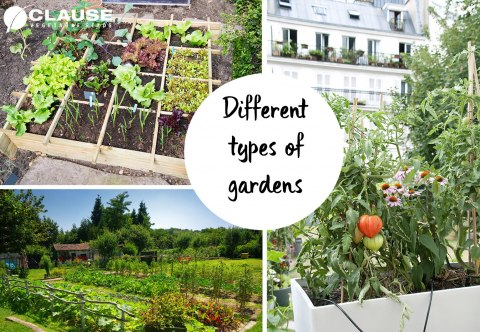 Different types of gardens | Clause Home Garden